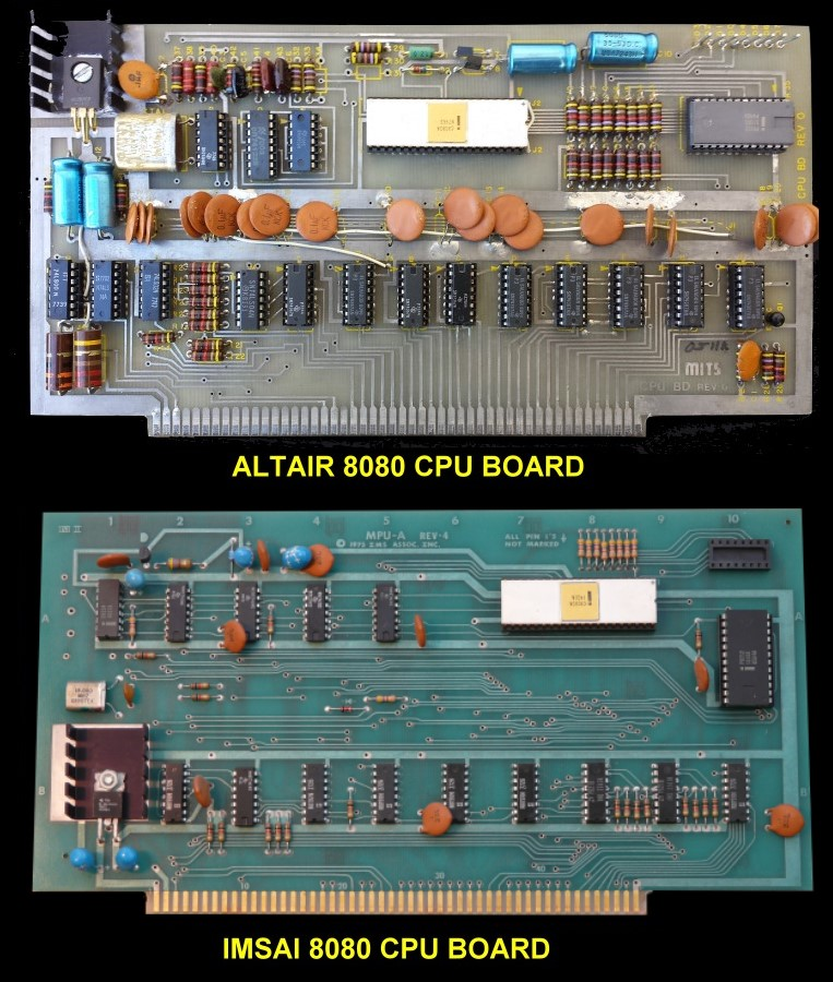 Altair & IMSAI CPU Cards