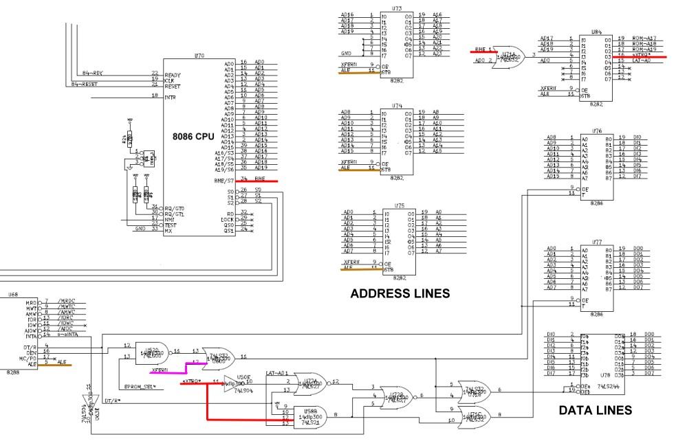 S100 Computers 8086 Cpu Board