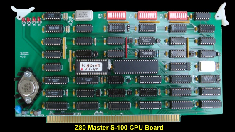 S100 Computers -Z80 CPU Board